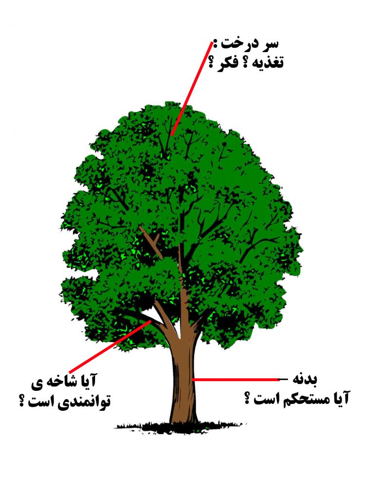 خطبه های هفتگی- درخت وجود